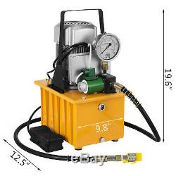 10000PSI Electric Hydraulic Pump 110V 70MPa Pedal Solenoid valve Control WINIT