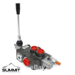 1 Spool Hydraulic Directional Control Valve, Double Acting, 21 GPM, SAE Ports