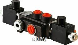 1 spool hydraulic solenoid directional control valve 21gpm 24VDC, monoblock