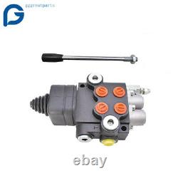 21GPM 2 Spool Hydraulic Directional Control Valve for Tractor Loader withJoystick