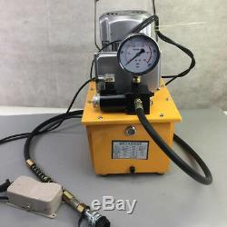 220V 70MPa Electric Driven Hydraulic Pump 10000PSI Pedal Solenoid valve Control