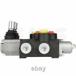 2 Spool 13 GPM Hydraulic Directional Control Valve