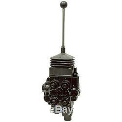2 Spool 25 Gpm Prince Hydraulic Joystick Loader Control Valve 9-4782