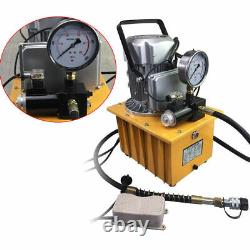 2 Stage Electric Hydraulic Pump Double Acting Solenoid Valve Control 10000psi US