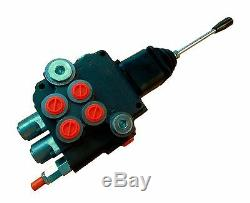 2 spool hydraulic JOYSTICK control valve 21gpm, double acting cylinder spool