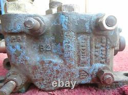 3-Spool Hydraulic Directional Control Valve Assembly