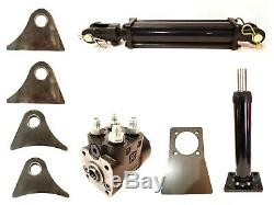 4.88CI-80ML Orbital Steering Control Valve kit hydraulic 6 ram and 9 column