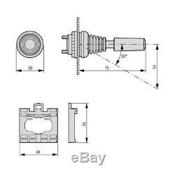 4 Bank Hydraulic Solenoid Control Spool Valve, 1/2 / 3/8 BSP, 50lpm, 12 / 24v