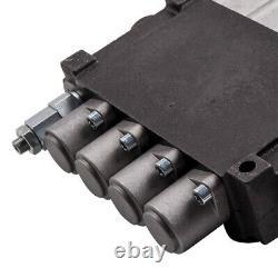 4 Spool Hydraulic Control Valve 11 GPM Adjustable Release Valve Tractors Loaders