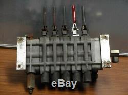 5 Port Hydraulic Control Valve Body Bank withFittings 10-3194-1 Car Hauler
