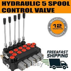 5 Spool Hydraulic Directional Control Valve five spool -60lt/min P560
