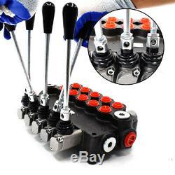 5 Spool Hydraulic Monoblock Directional Control Valve 11 GPM 40L/min 2900PSI