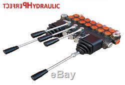 7 Spool 2 Joysticks Monoblock Hydraulic Directional Control Valve 11gpm 40L/M