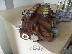 7-spool Hydraulic Control Valve