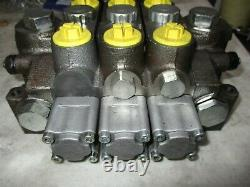 A3201 Galbreath Hydraulic 3 Spool Control Valve Made In USA