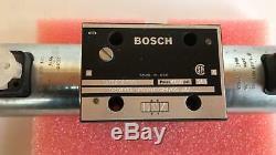 Bosch Valve 081wv10p1v1091ws024 00 d51 Hydraulic Solenoid Control Valve 4600 PSI