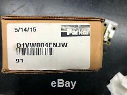 Brand New Parker Directional Hydraulic Control Valve Cat# D1VW004ENJW 24VDC