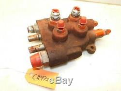 CASE 220 222 224 444 448 446 Tractor Hydraulic Control Valve