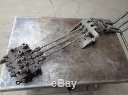 CLARK hydraulic control valve with HANDLE