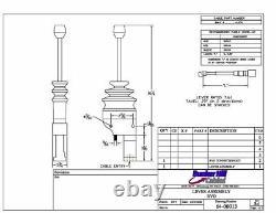 Cable Control Lever, Remote Valve Operator, 1-1/2 Travel, 64-00013