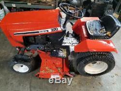 Case 220 Garden Tractor-Hydraulic Control Valve-USED