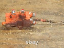 Case 222 Garden Tractor- Hydraulic Control Valve C14172