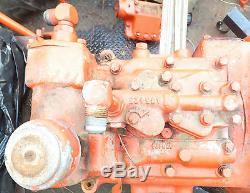 Case 430 Tractor part Hydraulic Control Cover Filter, Valve, Interlock