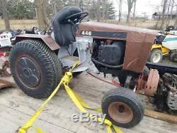 Case 446 Garden Tractor-Hydraulic Control Valve-USED