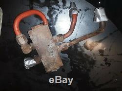 Case Hydraulic Control Holding Valve