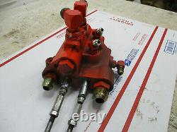 Case Ingersoll 3016 3018 3020 4016 4018 4020 PS hydraulic control valve C33473