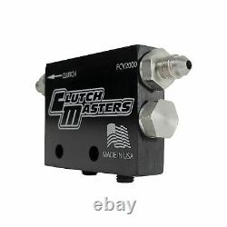 Clutch Masters FCV-2000 Universal Black Hydraulic Flow Control Valve with Lanyard