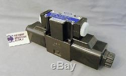 D03 hydraulic directional control solenoid valve Tandem center 12VDC