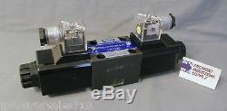 D03 hydraulic directional control solenoid valve Tandem center 12 volt DC