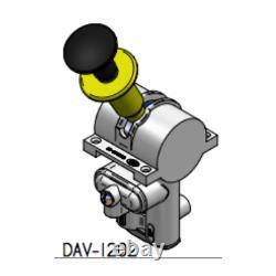 DEL HYDRAULICS Single control cam valve 3 position D14-1202-99-01
