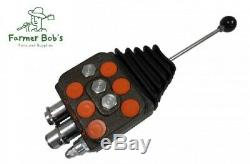 DV102ACXYG0P13 Cross 10 GPM Hydraulic Loader Valve 2 Spool with Joystick Control