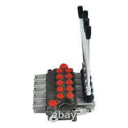 Double Acting Cylinder Spool, 5 Spool Hydraulic Directional Control Valve