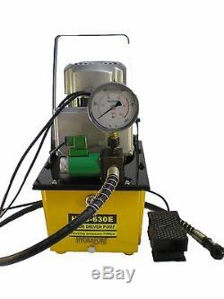 Electric Hydraulic Pump Single Acting Remote Controlled Valve 10000 PSI B-630E