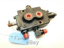 FORD 9607255 LGT14D Diesel Tractor Hydraulic Control Valve