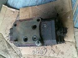 Farmall 300 350 400 450 tractor IH hydraulic control (3) valves behind the dash