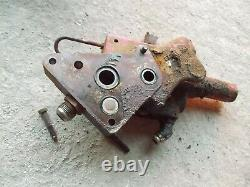 Farmall 656 RC Tractor IH Hydraulic valve control blocks block with ports MID&OUT