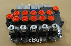 Five Spool Hydraulic Direction Control Valve P560