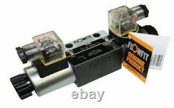 Flowfit Hydraulic Cetop 5 NG10 3 Position Solenoid Directional Control Valve