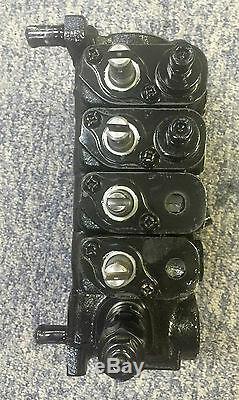 Forklift Hydraulic Control Valve 4 Spool Mitsubishi Caterpillar 91273-30300