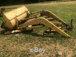Freeman Hydraulic Tractor Loader Valve, Pump, Controls Come With Massey Ford IH