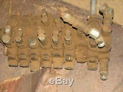 Gresen Backhoe Hydraulic Control valve