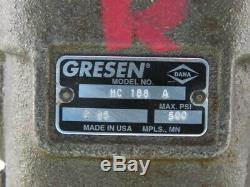 Gresen HC188 A 500 PSI Joystick Operated Hydraulic Directional Control Valve