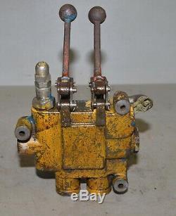 Gresen hydraulic 2 spool control valve 2702 tractor sawmill splitter loader part