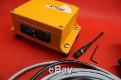 HYDRAULIC BANK MOTOR 4 SPOOL BANK SOLENOID CONTROL VALVE 50 l 12V + REMOTE RADIO