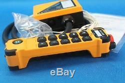 HYDRAULIC BANK MOTOR 5 SPOOL VALVES 60 l/min 12 V + JUUKO CONTROL PANEL WIRELESS