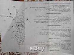 HYDRAULIC KIT VALVE 2 SECTIONS + CONTROL JOYSTICK Kubota L3400